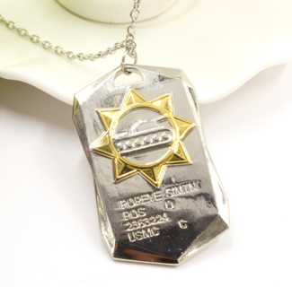 World of Tanks Dog Tag Necklace