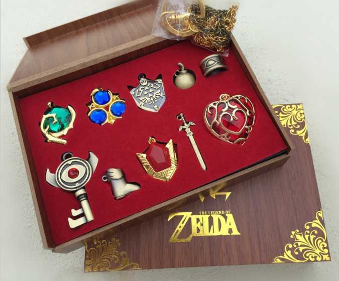 Legend of Zelda 10 Piece Gift Box