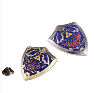 zelda hylian shield pin