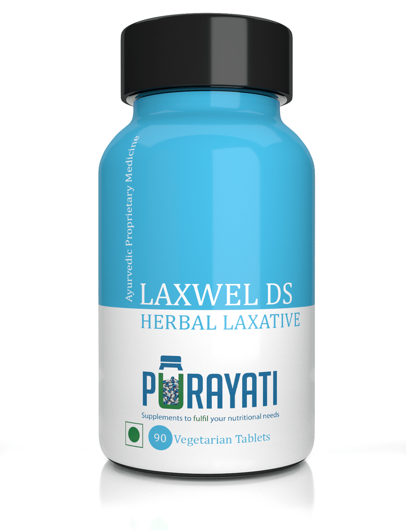 Laxwel DS Herbal Laxative Tablet (90 Tablets)