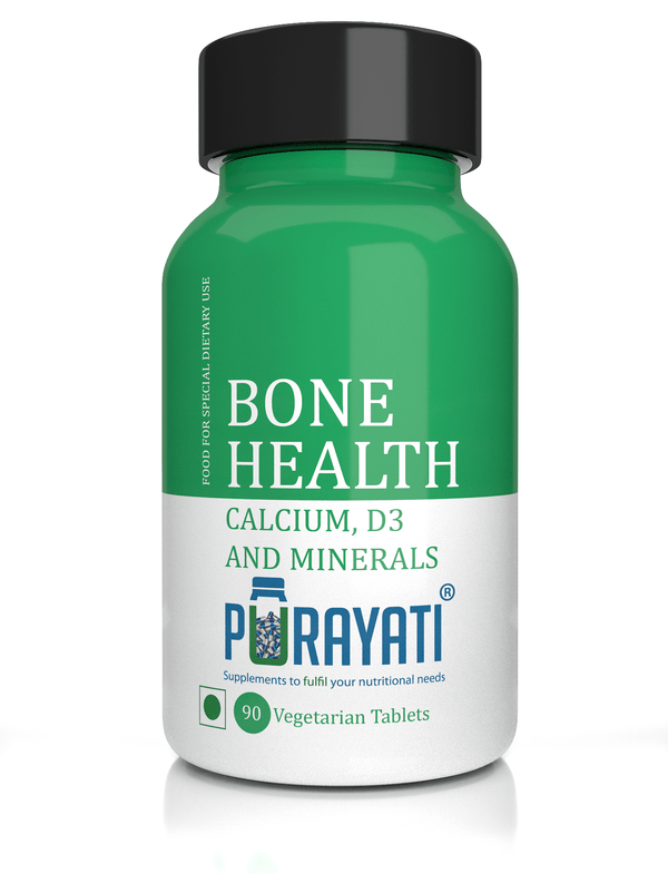 Calcium with Vitamin D3 Tablets for Bone Health