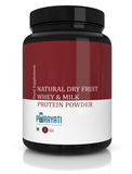 Natural Dry Fruit Whey & Milk Protein Powder (1 Kg)