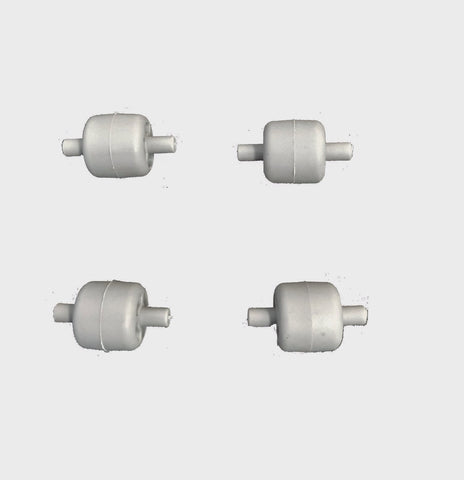 Genuine Kirby Surface Nozzle wheels 4/pack