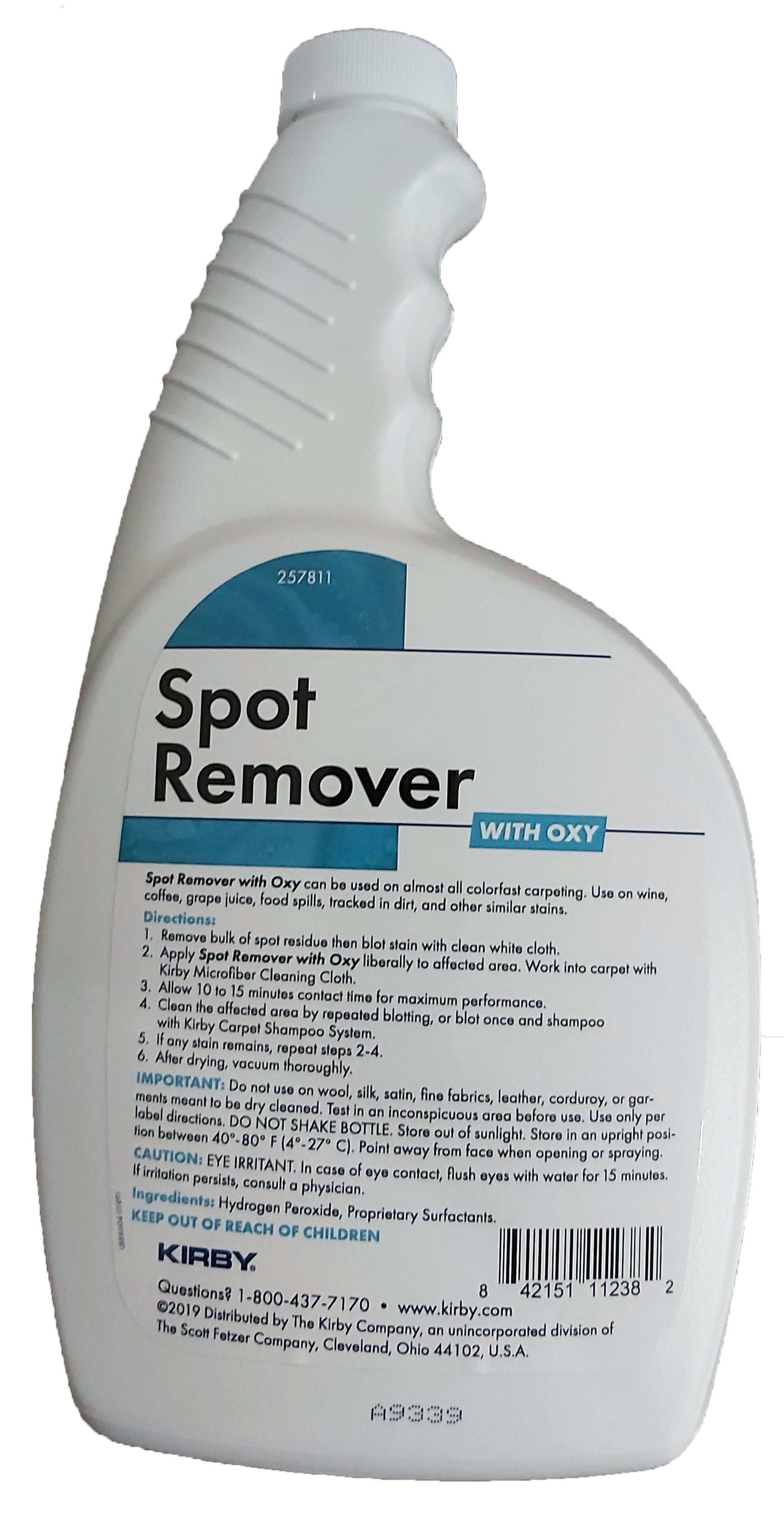 Kirby Spot Remover with Oxy 650mL