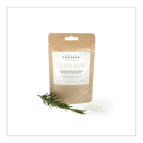 Eucalyptus Rosemary Bath Salts - Made By The Coopers