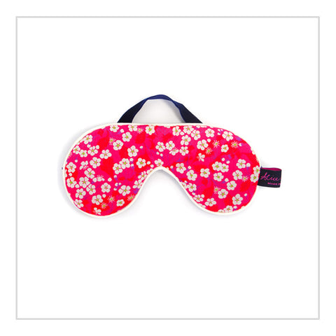Cotton Eye Mask - Mitsy Pink - Alice Caroline