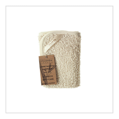 Dual Sided Bamboo Washcloth - Hydrea London