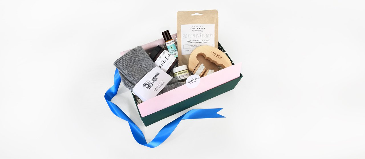 Cancer gifts - Natural & Therapeutic - The Boost Box Company