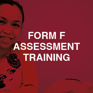 Form F Assessment Training - Classroom-Based Training