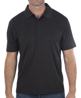 G3 Mens Short Sleeved Wicking Polo Shirt