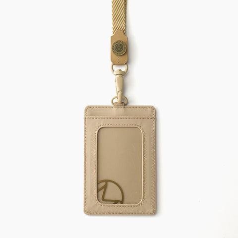 Noir Badge Holder-Navy