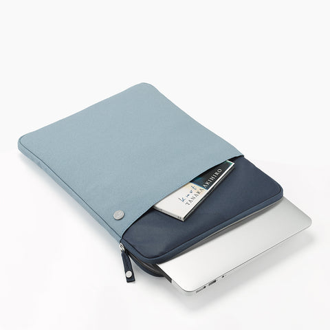 "Retro Macbook Sleeve 15.4""-blue"