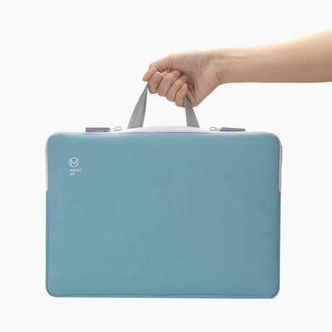 "Retro Macbook Sleeve 13.3""-Blue"