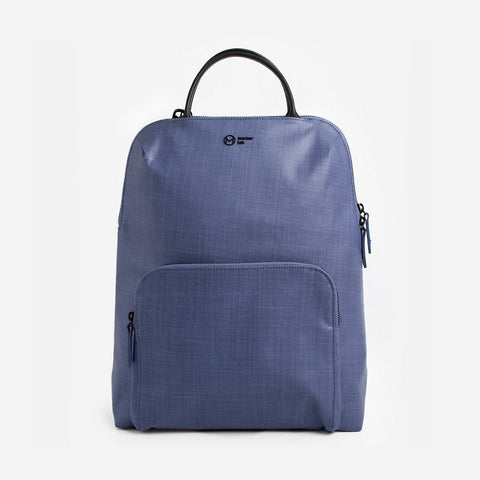 Noir Rosebud Backpack-grey