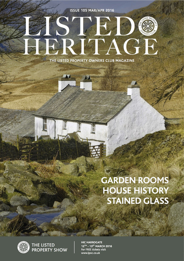 Listed Heritage: March/April 2016