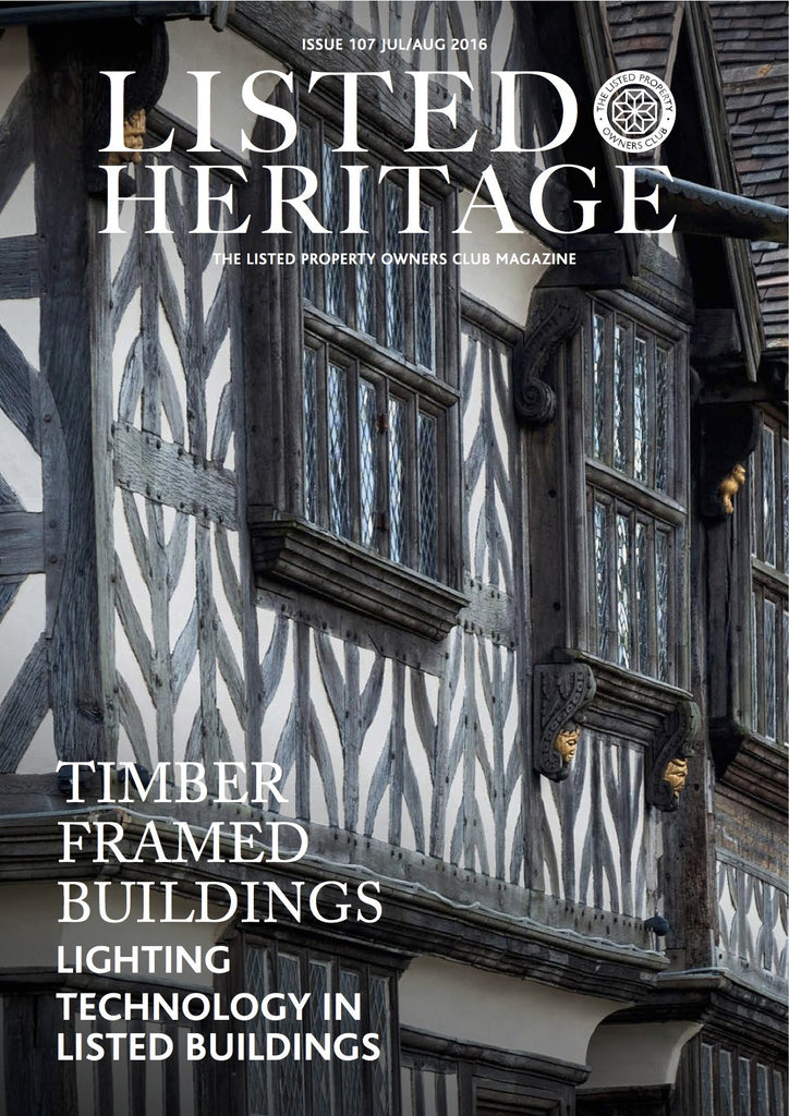 Listed Heritage: July/Aug 2016