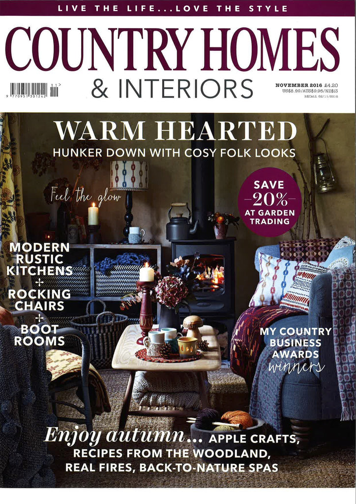 Country Homes and Interiors November 2016