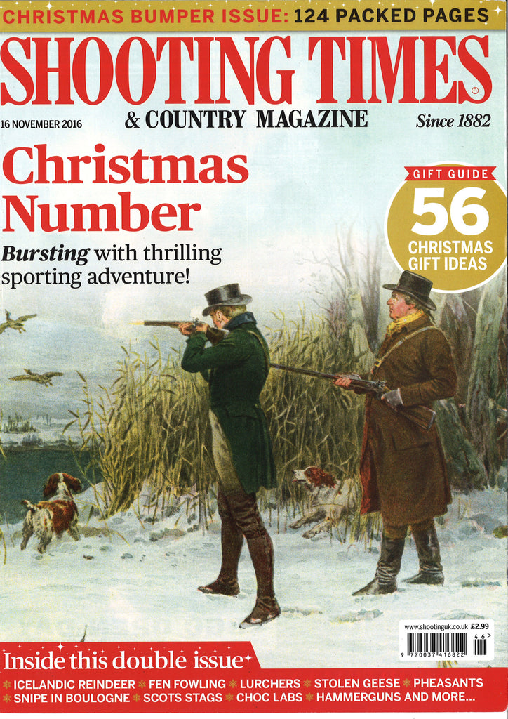 The Shooting Times – November 2016