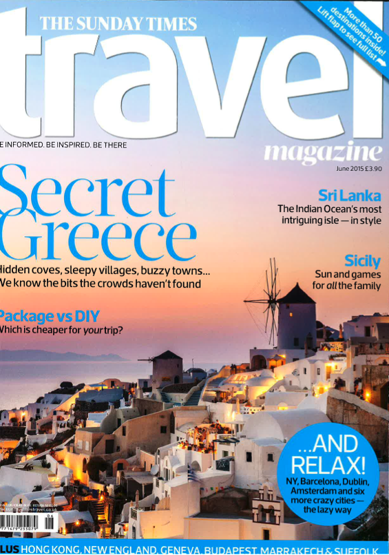 The Sunday Times Travel Magazine June 2015