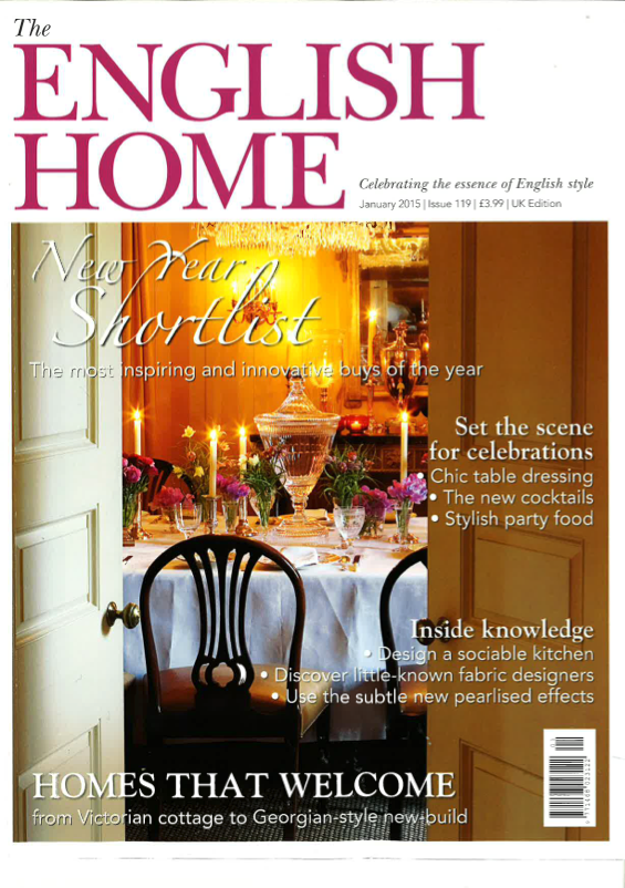 The English Home January 2015