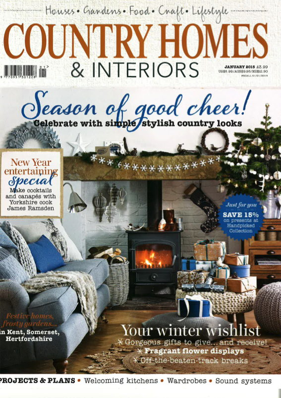 Country Homes & Interiors January 2015