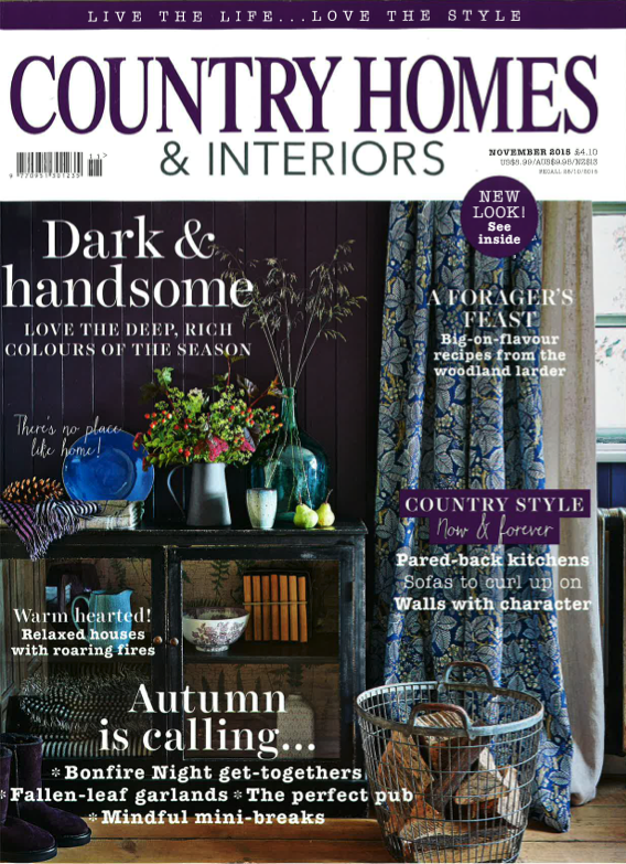 Country Homes & Interiors November 2015