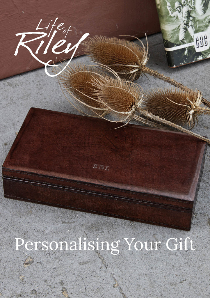 Personalising Your Gift