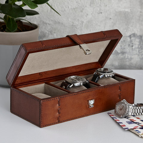 three watch box