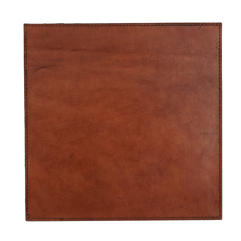 Conker brown leather