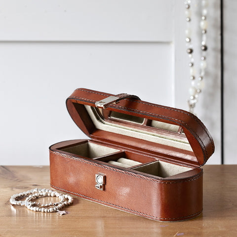 Conker Brown Small Jewellery Box