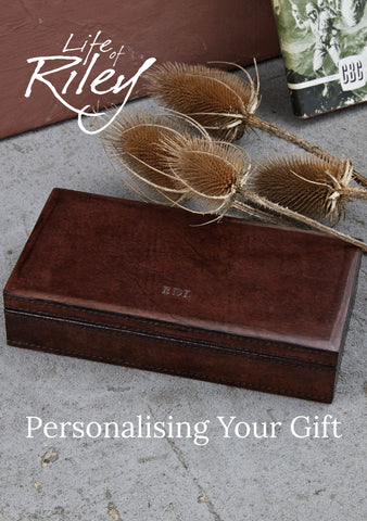 Personalising your gift catalogue