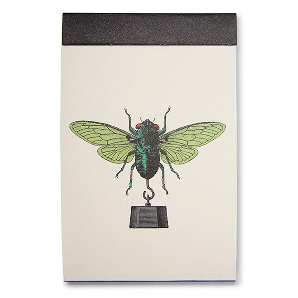 Fly with weight notebook front