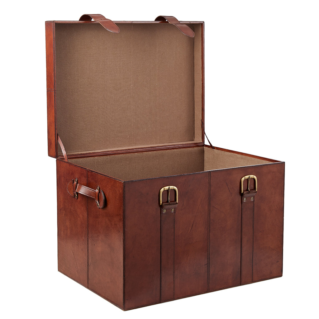 Seconds - Leather Cabin Trunk