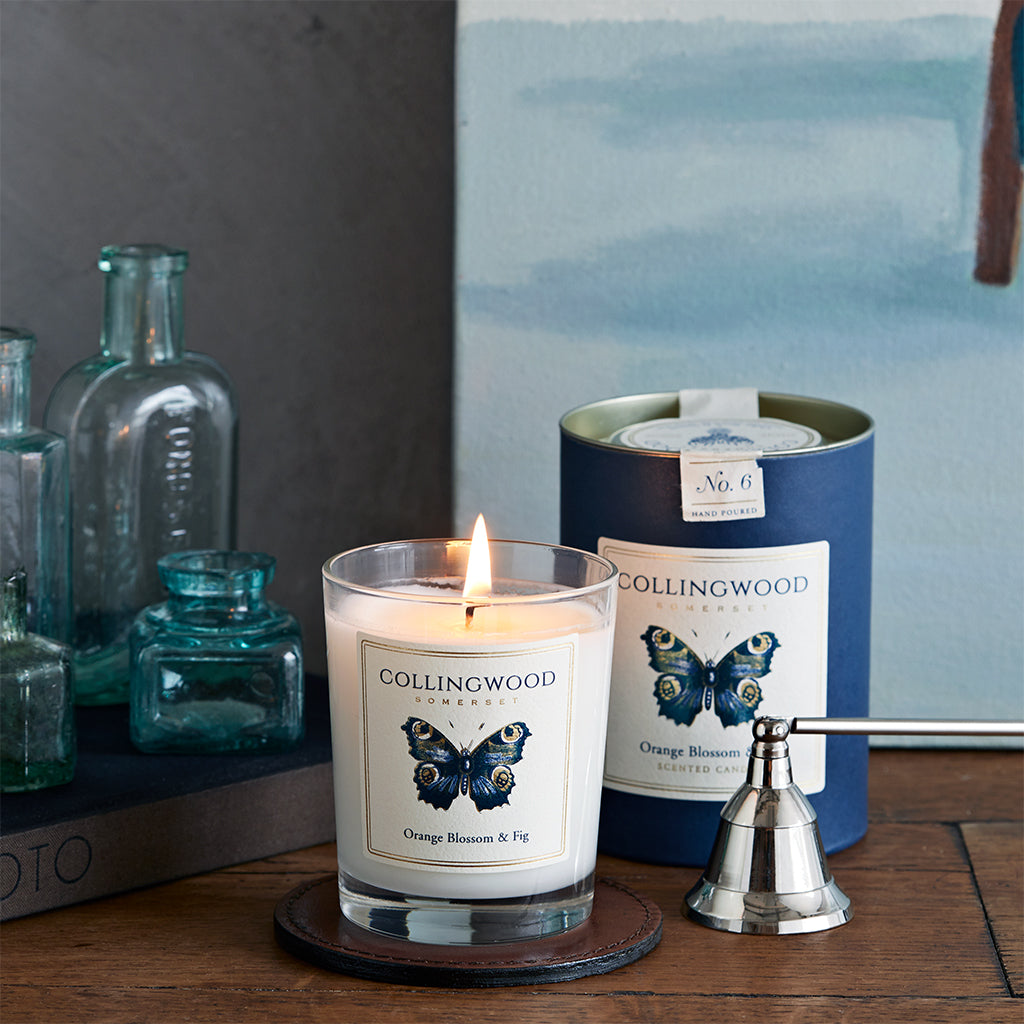 collingwood of somerset orange blossom and fig scented candle