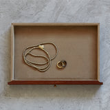 Leather Jewellery Box Drawer