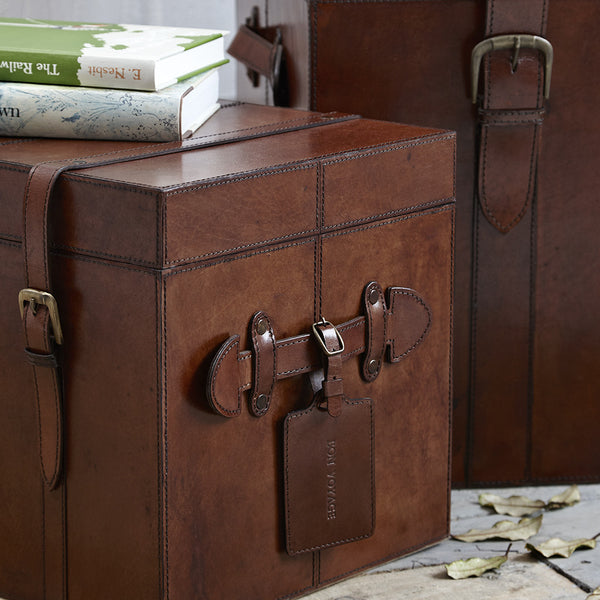 Leather Heirloom Trunk