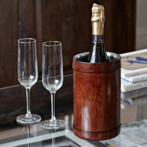 Leather Wine Cooler