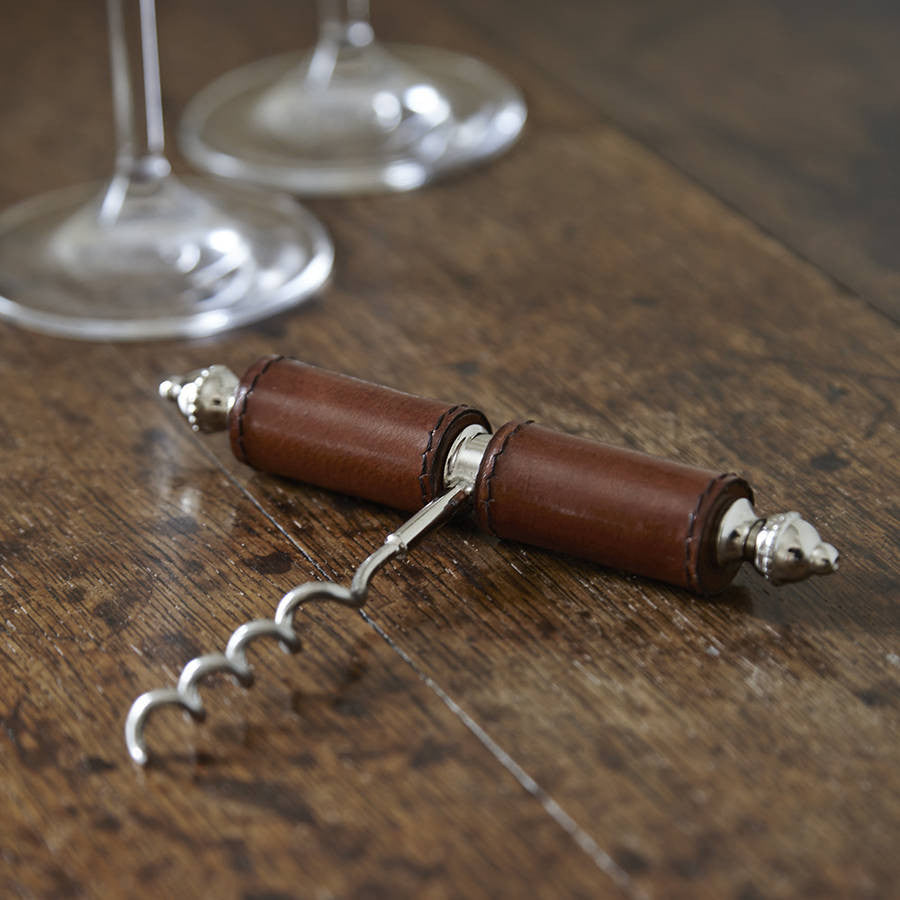 Leather Corkscrew