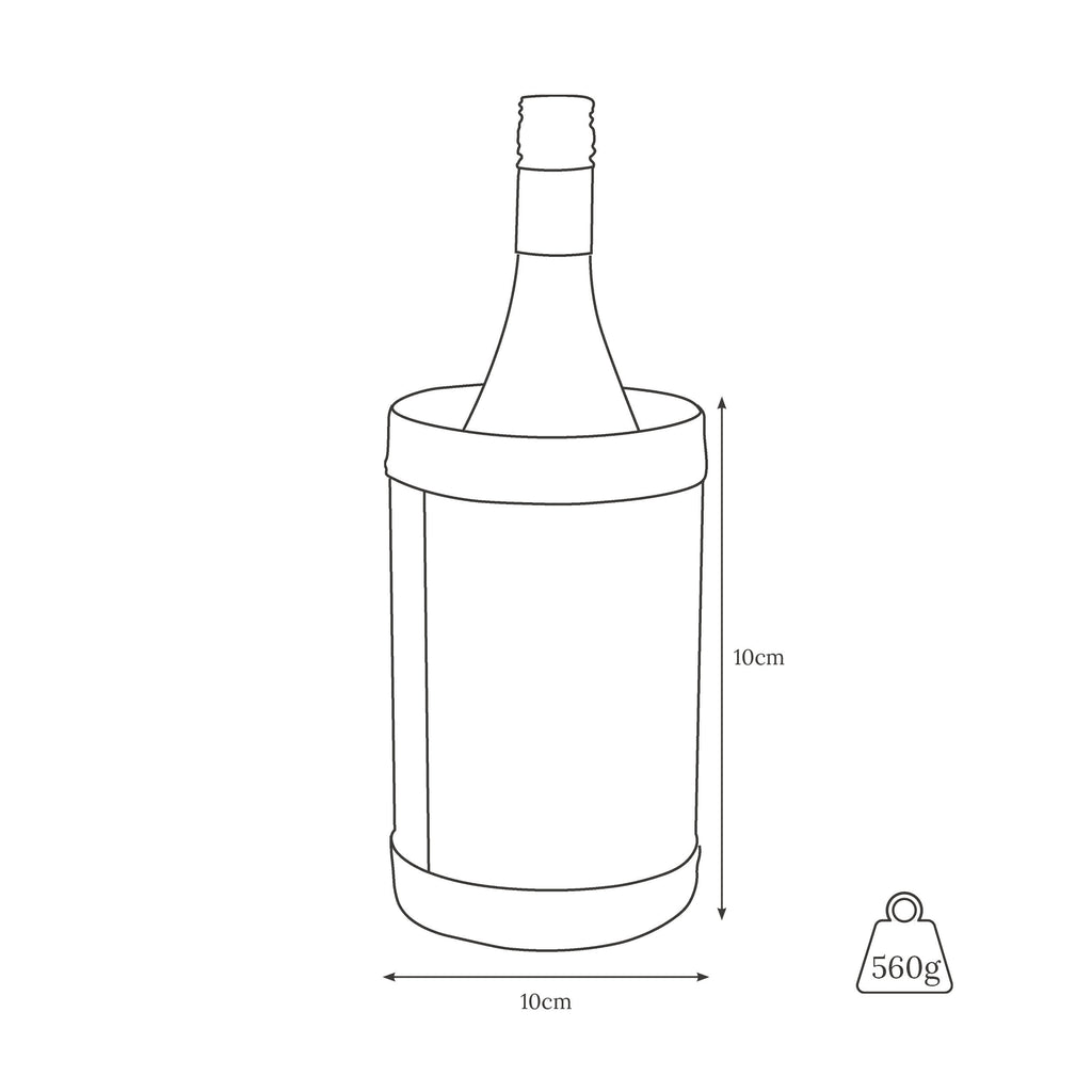 Single wine cooler weight and dimensions