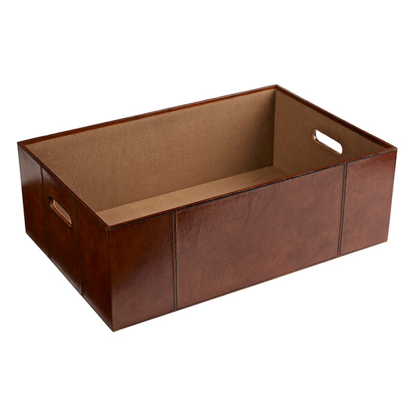 leather underbed storage box with out the lid