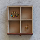 Leather Vanity Jewellery Box