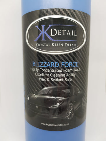 KKD Blizzard Force Snow Foam