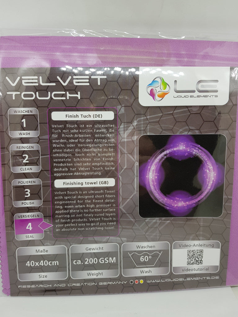 Liquid Elements Velvet Touch Cloth