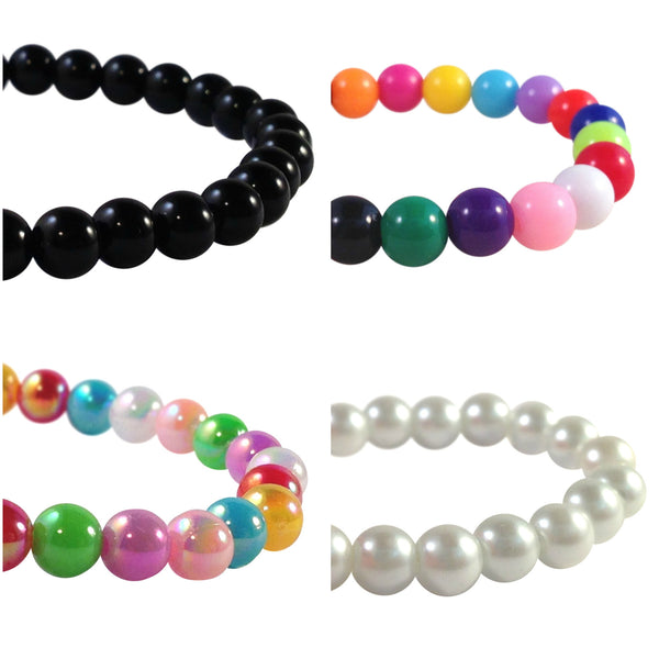 WARFARIN Acrylic Bead Bracelet with Letters 16 Colour Choices Medical Alert - MediBracelets - 3