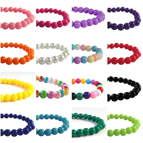 WARFARIN Acrylic Bead Bracelet with Letters 16 Colour Choices Medical Alert - MediBracelets - 2