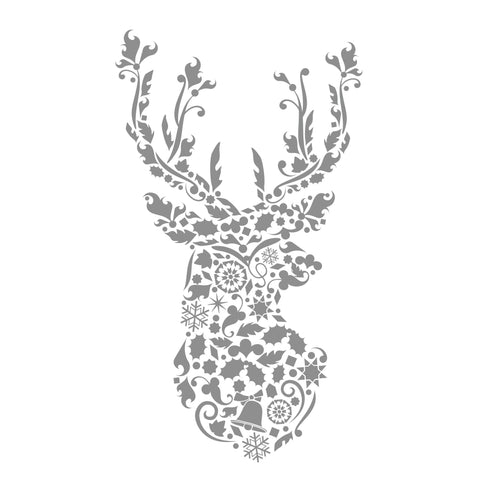 Christmas Cards - Foiled - Stag - 6 pack
