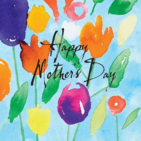 Inkflowers - Happy Mother's Day Card