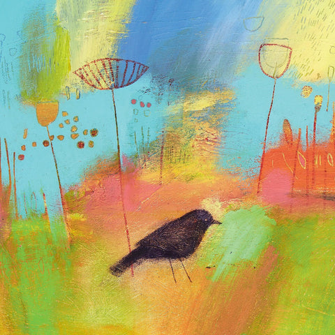 Just One Blackbird - Notecards Pack of 8 - Blank