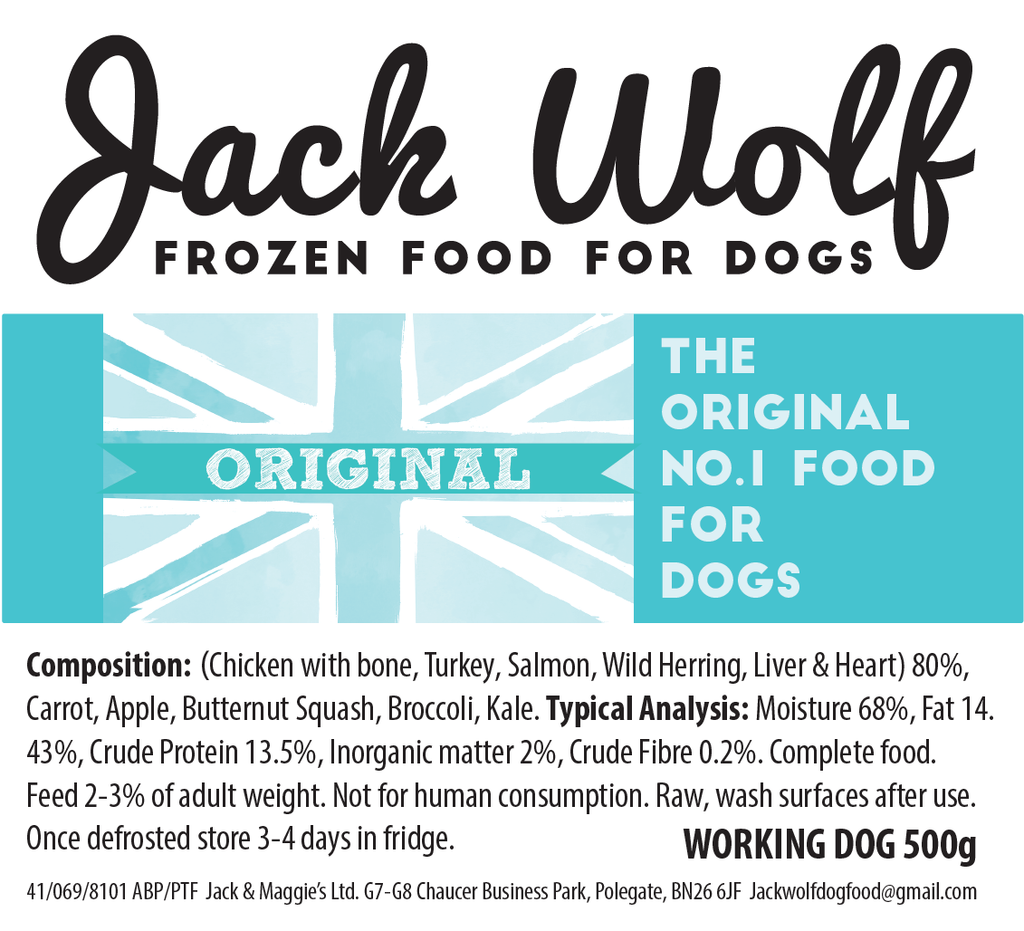 Working Dog Original - Jack Wolf