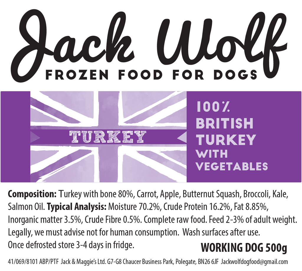 Working Dog Turkey - Jack Wolf
